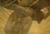 Ζωγραφικη /Painting / Εργα μεγαλων καλλιτεχνων απο την Eλληνικη μυθολογια και οχι μονο...