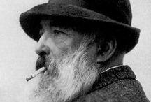 Claude Monet impressionist / Ο σημαντικοτερος εκπροσωπος του ιμπρεσιονισμου.Κυριο χαρακτηριστικο του ιμπρεσιονισμου στη ζωγραφικη,ειναι τα ζωηρα χρωματα(κυριως με τα βασικα χρωματα)οι συνθεσεις σε εξωτερικους χωρους,συχνα υπο ασυνηθιστες οπτικες γωνιες και η εμφαση στην αναπαρασταση του φωτος.Οι ιμπρεσιονιστες θελησαν να αποτυπωσουν,την αμεση εντυπωση(impression)που προκαλει ενα αντικειμενο η μια καθημερινη εικονα.