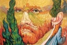 Vincent van Gogh / Εναστρη νυχτα πανω απο τον Ροδανο 1888