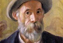 Pierre Auguste Renoir / ιμπρεσιονισμος, κυριο χαρακτηριστικο στη ζωγραφικη ειναι τα ζωηρα χρωματα(κυριως με χρηση των βασικων χρωματων) , οι συνθεσεις σε εξωτερικους χωρους, υπο ασυνηθιστες οπτικες γωνιες και η  εμφαση στην αναπαρασταση του φωτος.Οι ιμπρεσιονιστες θελησαν να αποτυπωσουν την αμεση εντυπωση(impression)που προκαλει ενα αντικειμενο η μια εικονα.