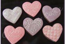 Mes réalisations autour de la Saint-Valentin / Ici vous trouverez toutes les réalisations sur la fête des amoureux.