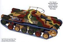 Tank markings and camo