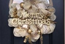 christmas wreaths and swags / by Elizabeth Emmerick