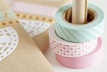 Washi and Ribbon