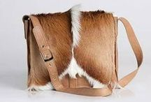 Handbags / Fine quality leather and fur make these handbags truly high quality.