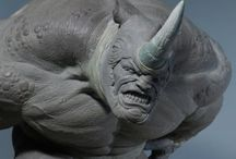 3D Modeling and sculpting / 3D Modeling and sculpting pinned in the web
