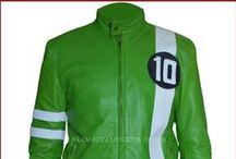 Ben 10 Ryan Kelly Green Cosplay Jacket / Buy Ben 10 Ben Tennyson Ryan Kelly Green Cosplay Leather Jacket from UK's Trusted online leather jackets store Slimfit Jackets UK