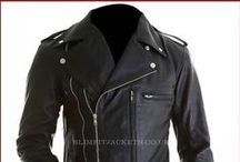 Arnold Schwarzenegger Terminator 2 Biker Jacket / Buy Terminator 2 Arnold Schwarzenegger Black Motorcycle Leather Jacket from UK's most Trusted online leather jackets store slimfitjackets.co.uk.