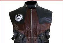 Avengers Jeremy Renner (Hawkeye) Leather Vest Jacket / Buy Jeremy Renner (Hawkeye) Leather Vest from the UK's trusted online leather jackets store slimfit jackets uk.