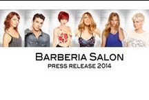 Summer 2014 Photo Shoot / Barberia's Summer Photo Shoot - color, cut, styling and makeup done by Barberia Stylists!