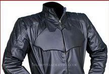 Batman And Superman Reversible Leather Jacket / Buy Superman And Batman Reversible Black & Blue Leather Jacket from the online store slimfitjackets.co.uk