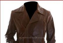 Captain America Chris Evans Steve Rogers Brown Jacket / Buy Chris Evans Steve Rogers Captain America Winter Soldier Brown Leather Jacket from the online leather jackets store Slimfit Jackets UK.