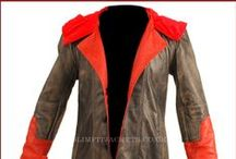 Devil May Cry 4 Dante Cosplay Costume Leather Coat / Buy Devil May Cry 4 Dante Cosplay Coat Leather Costume from the online leather jackets store slimfitjackets.co.uk at affordable price.