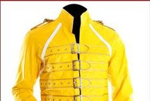 Freddie Mercury Yellow Concert Jacket / Buy Freddie Mercury Yellow Concert Leather Jacket from the UK's most trusted online leather jackets Slimfit Jackets UK store at affordable price with free shipment.
