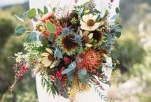 Wedding Flowers / Beautiful weddings flowers including centerpieces, bouquets, and buttonholes.