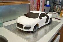 Ailleurs sur le net : tutos gâteaux 3D, 2D / Tutoriels trouvés sur le net pour réalisés des gâteaux 3D ou 2D trouvés.