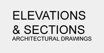 C.B. | Architectural Elevations & Sections