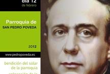 carteleria para la parroquia de San Pedro Poveda de Jaén