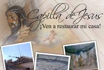 carteleria para la Real Parroquia de Santa Marta