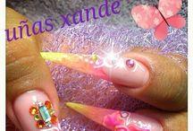 Uñas xande / My nail art