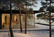 Škandinávske domy - scandinavian houses