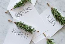 Events + Table Presentation / A board dedicated to the details that make up great events.