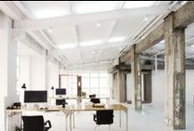 Office Space Ideas / Ideas for our future working space and studio.