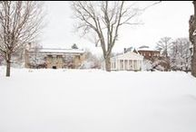 Snow, snow, & more snow! / Check out Princeton Seminary as a winter wonderland.