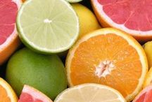 Citrus Sunshine. / Grapefruit, oranges, lemons, limes.... and sunshine! / by Jane Bos