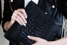 Black handbags. / Black handbags. Women's fashion