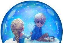 Jelsa / Jack frost and Elsa