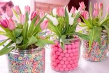 Simple Easter ideas / Really cute Easter decorating ideas for those who are time-poor