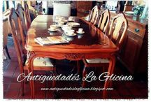 Antiguedades en La Glicina / Muebles y Objetos antiguos. RESTAURACIONES.