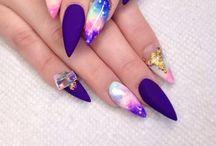 Nails stiletto / Estiletto nails