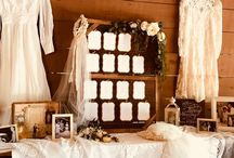 Escort Card & Table Numbers / So many fun ideas with escort cards and table numbers!