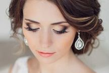 Bridal Wedding Makeup Ideas / Examples of real wedding makeup styles for your special day.   NOTE: Only a few of these are my work. Mostly this is just a collection of photos and pins to give you an idea of what classic bridal makeup looks like on real brides.