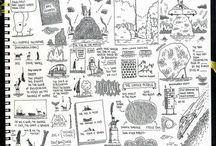 Sketch book & Note book