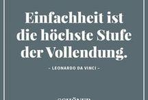 Zitate / Die besten Zitate und Visual Statements über Design, Wohnen und Einrichten – ausgewählt von SCHÖNER WOHNEN.