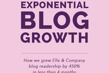 Blog Growth Strategies / How to Increase Blog Traffic, Pageviews and Unique Monthly Visitors