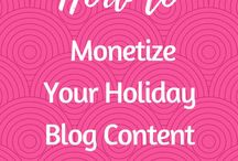 Blog Income Strategies / How to Make Money from Blogging