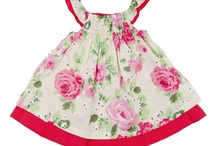 Girl's essential / 2 Layers Sundress - Navy  Floral Print, 2 Layers, Cotton/Polyester, One-piece Dress