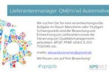 XPSNET - Job der Woche / Jede #Woche einen neuen Special #Job von #XPSNET