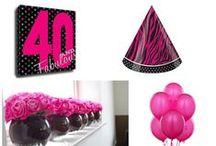 40th Birthday  / Singable keepsake perfect for a 40th birthday celebration! www.canvaskudos.com #40thbirthday #gifts #birthday