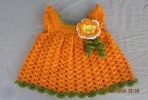 crochet para bebes,  ropa para catalina
