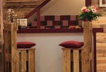 Les meubles en palette de Martxuka / Nos meubles sont faits à base de bois recyclés et de palettes. Écologiques, économiques et confortables, ils sont soigneusement poncés et vernis.