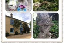 South Farm Venue decoration / Floral displays from weddings at South Farm