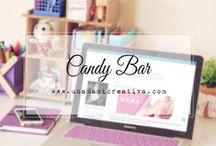 Candy Bar ♡ / Decoracion de la mesa de dulces