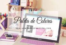 Paleta de Colores ♡