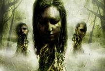 Libri horror, thriller e fantastici / Le più belle copertine di romanzi, raccolte e saggi (in formato cartaceo e digitale) di genere horror, thriller e del fantastico più nero.
