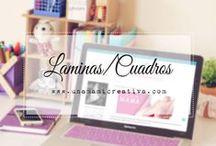 Laminas/Cuadros ♡
